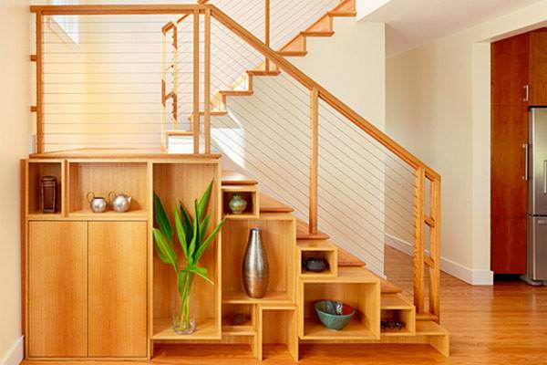 Under Stairs Storage Space Shelf Ideas Maximize