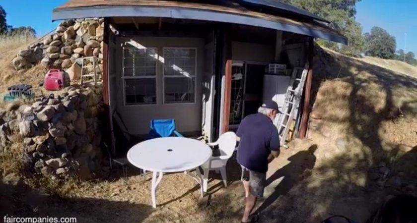 Underground Shipping Container Home Earth Cooled