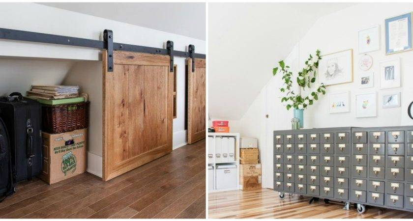 Unfinished Attic Storage Solutions Upgrade Your