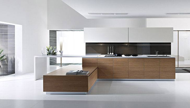 Unique Dune Kitchen Range Pedini