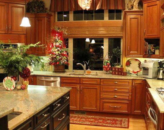 Unique Kitchen Decorating Ideas Christmas