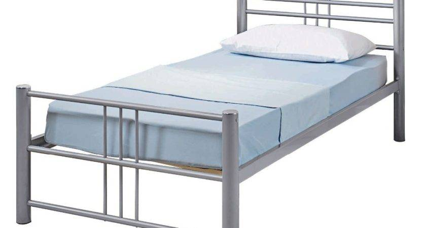 Unique Latest Design Single Sleeping Bed Cheap Metal