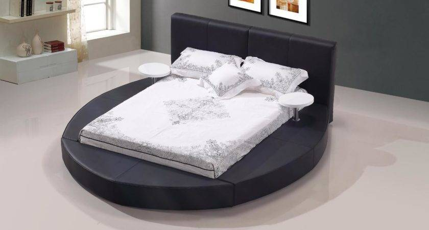 Unique Leather Luxury Platform Bed Nashville Davidson