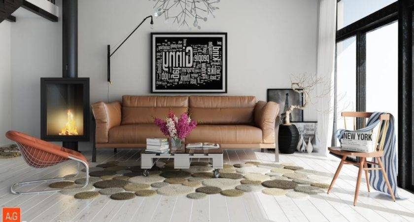 Unique Living Room Rug Interior Design Ideas