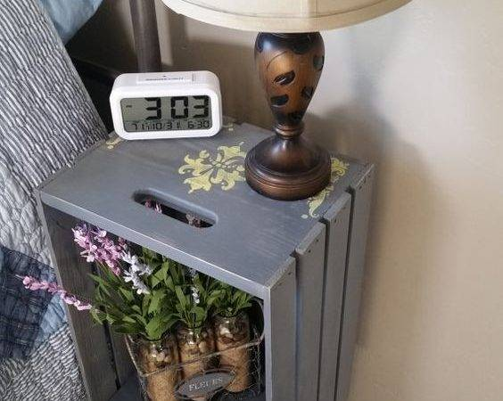 Unique Repurposed Bedside Table Ideas Blow Your