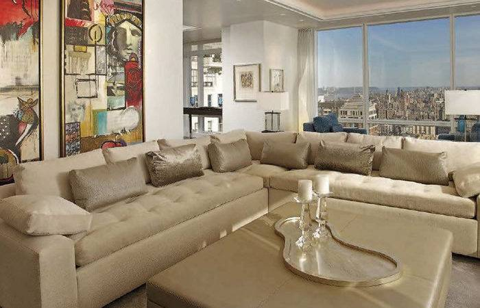 Unique Sectional Sofas Modern Leather Shape