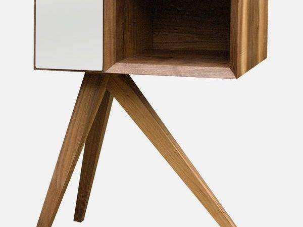 Unique Side Table Unbalanced Looking Base