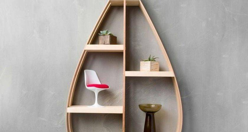 Unique Wall Bookshelves Creative
