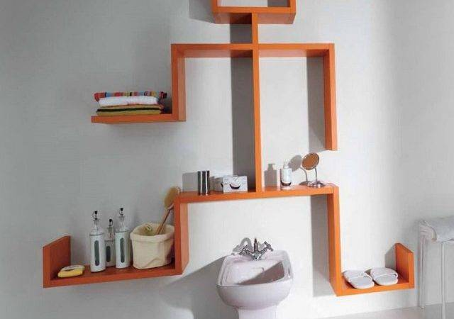 Unique Wall Shelving Ideas Home Design