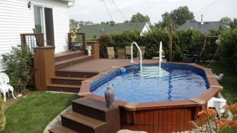Uniquely Awesome Above Ground Pools Decks