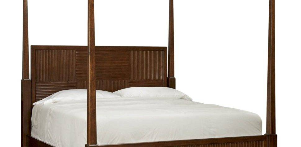 Universal Furniture Silhouette King Four Poster