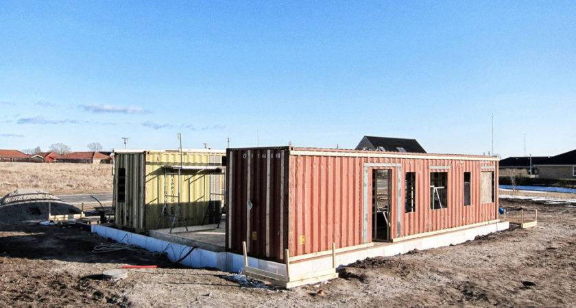 Upcycle House Two Prefabricated Shipping Containers