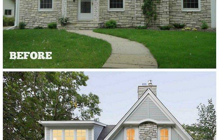 Updating Exterior Small Stone House Hooked
