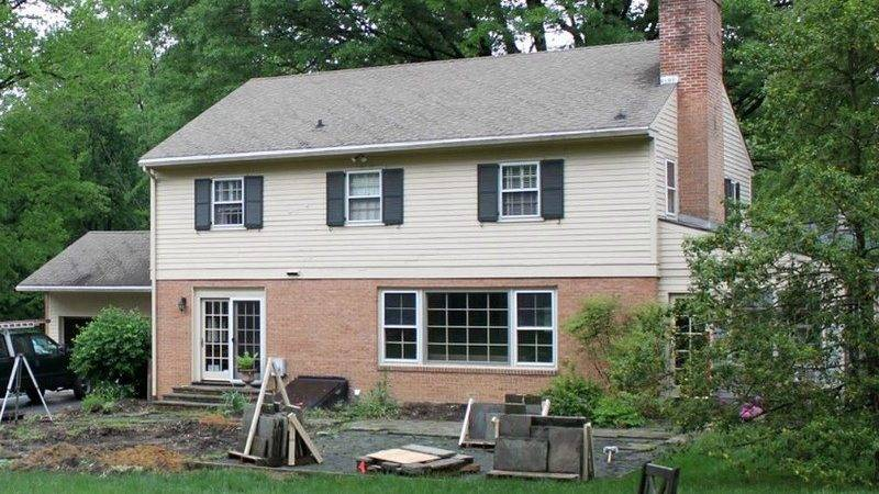 Updating Traditional Two Story House Delaware