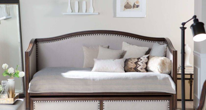 Upholstered Daybeds Look Like Sofas