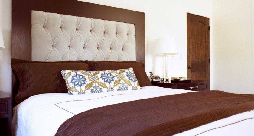 Upholstered Wood Headboard Ideas Contemporary