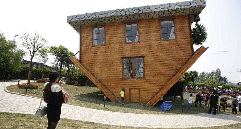 Upside Down Houses Exist They Boggle Mind