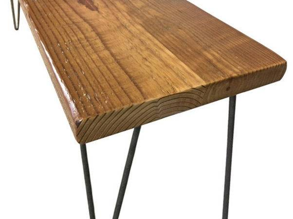 Urban Loft Reclaimed Wood Bench Rustic Accent
