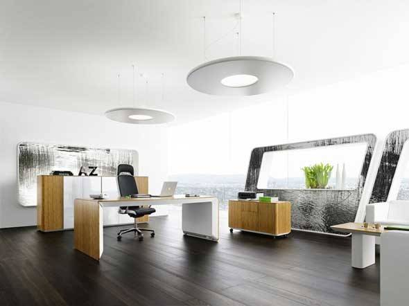 Using Contemporary Office Furniture Layouts
