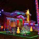 Very Christmas Decorated Houses Photos