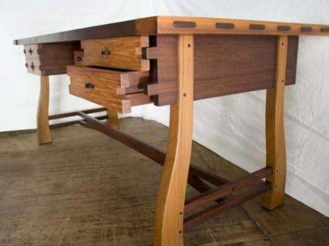 Very Cool Desk Woodworkerz