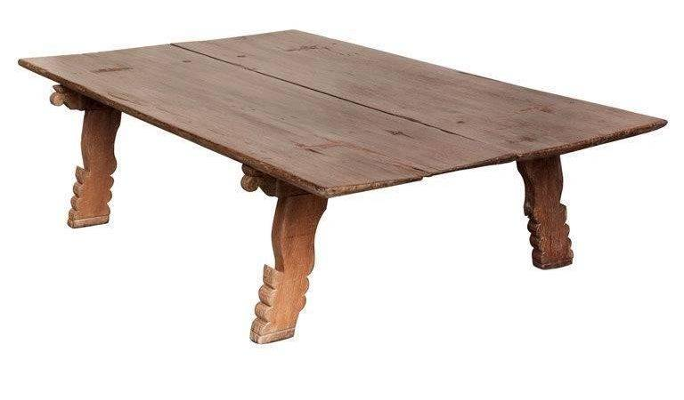 Very Large South Indian Wood Daybed Coffee Table Stdibs