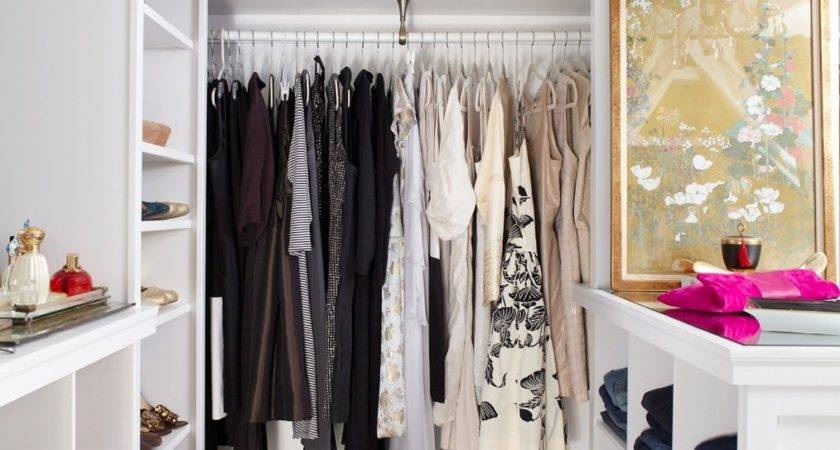 Very Small Walk Closet Ideas