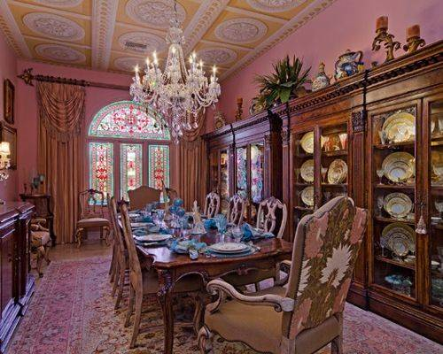 Victorian Dining Room Design Ideas Remodels Photos