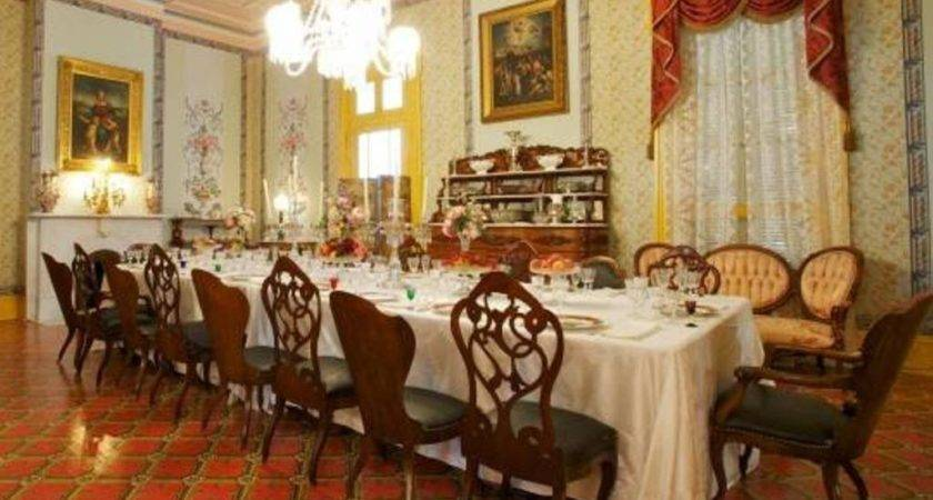 Victorian Dining Room High Quality Interior