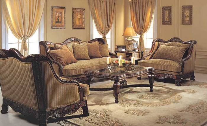Victorian Style Living Room Designs