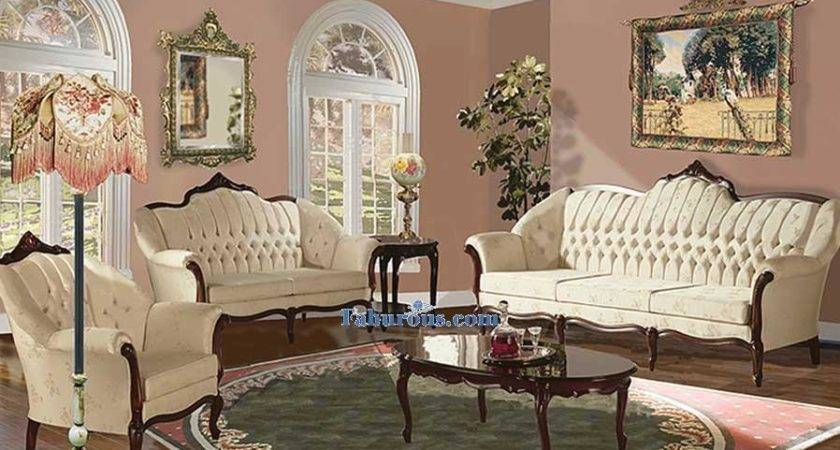 Victorian Style Living Room Furniture Folat