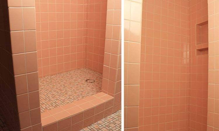 Video Kate Grouts Her Pink Ceramic Wall Tiles Retro