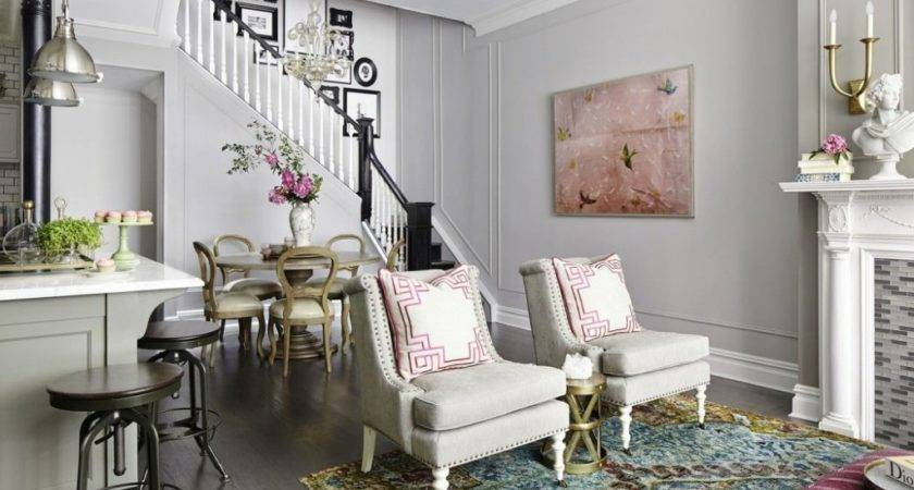 Vintage Living Room Ideas French Styled Chairs