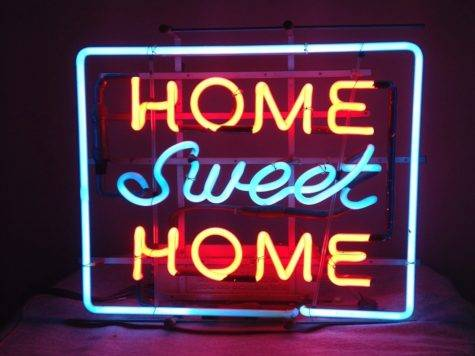 Vintage Neon Sign Home Sweet Collectors Weekly