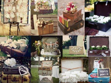 Vintage Suitcase Wedding Ideas Simply Peachy Event