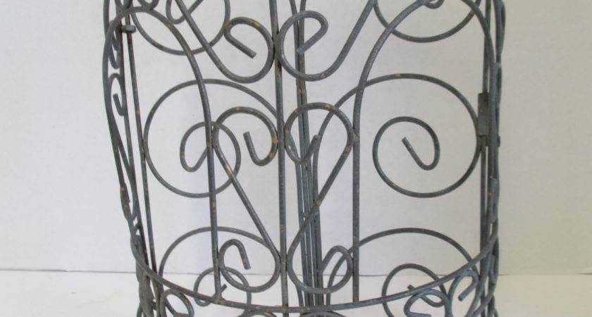 Vintage Wall Hanging Wire Display Diy Flower Arrangements
