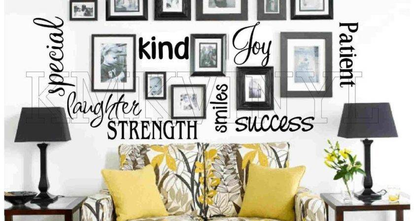 Vinyl Lettering Sticky Word Quote Wall Art Ebay