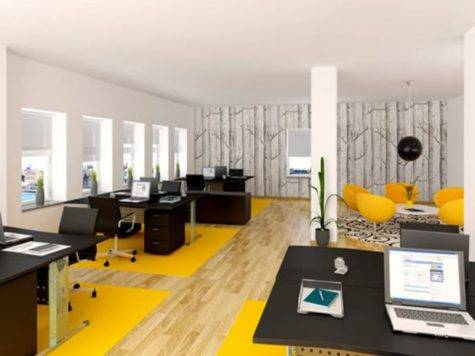 Virtual Design Room Small Office Layout Modern