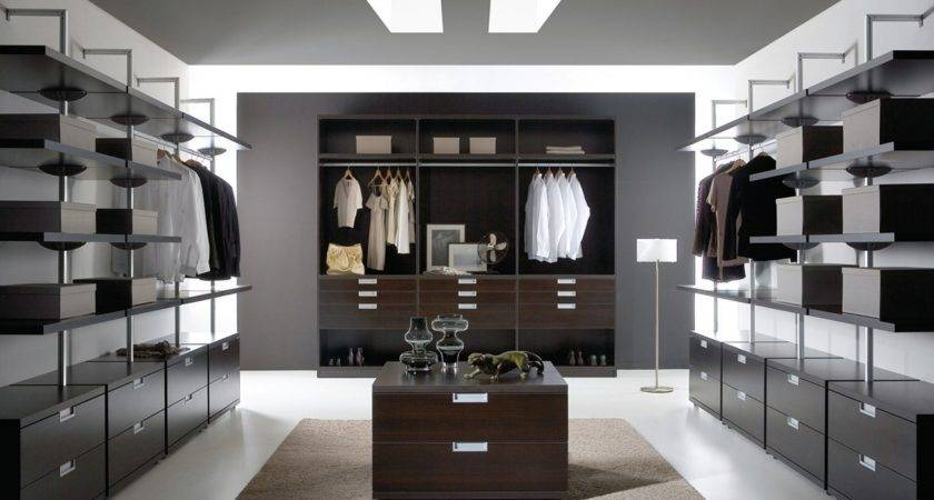 Walk Closet Design Small Larger Areas