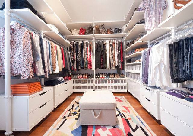 Walk Closet Modern Wardrobe Other Metro