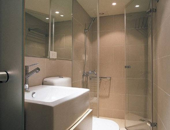 Walk Shower Designs Small Bathrooms Architectural