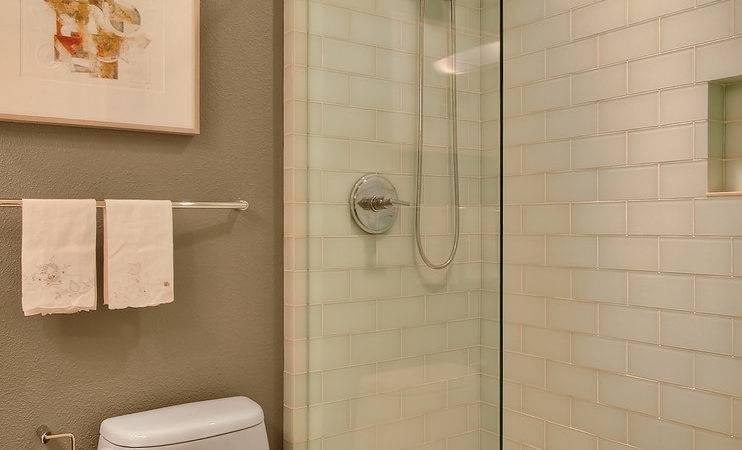 Walk Showers Small Bathrooms Bathroom Contemporary