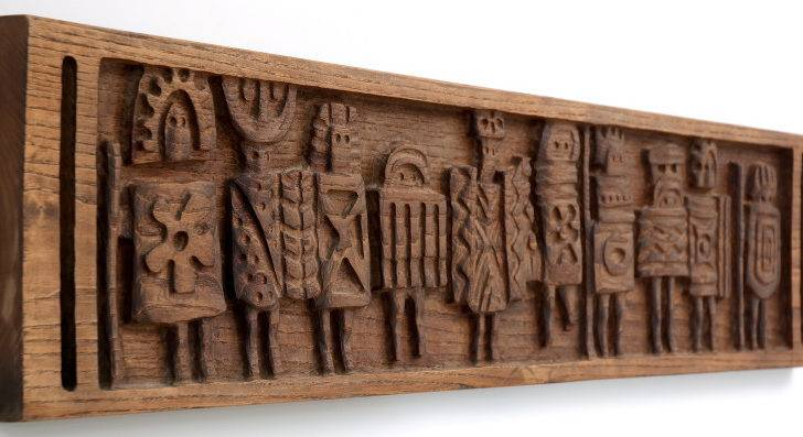 Wall Art Designs Long Evelyn Ackerman Carving