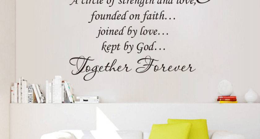 Wall Art Designs Word Our Together