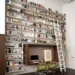 Wall Bookshelf Interior Design Ideas