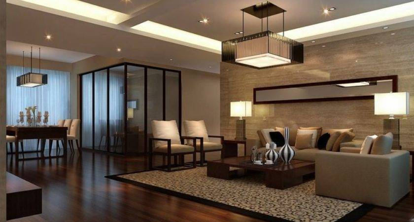 Wall Chinese Living Room Wood Flooring