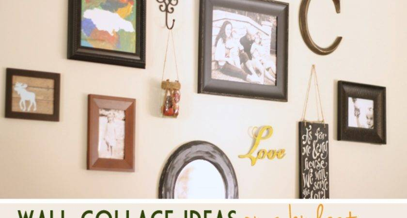 Wall Collage Frame Ideas