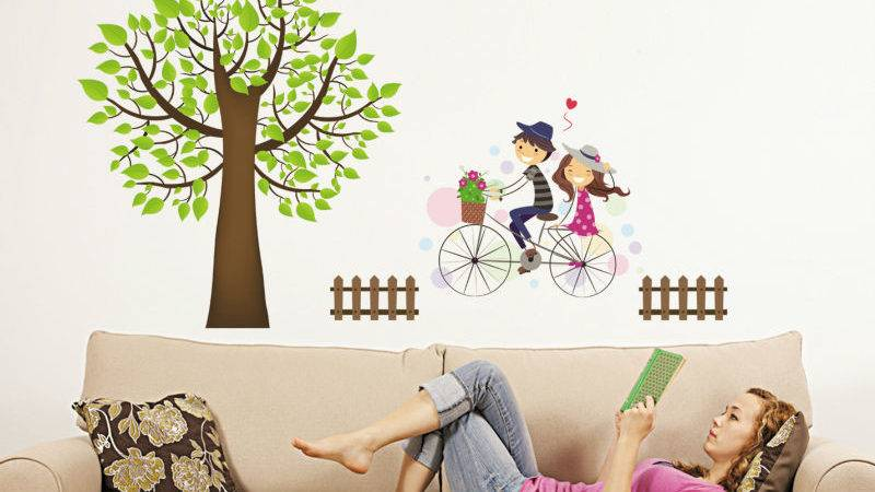 Wall Decal Willow Tree Ideas Weeping