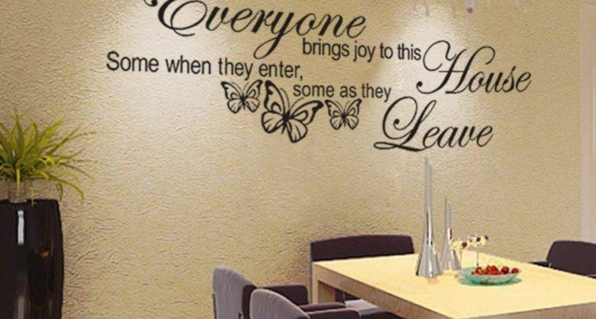 Wall Decoration Stickers Words Pixshark
