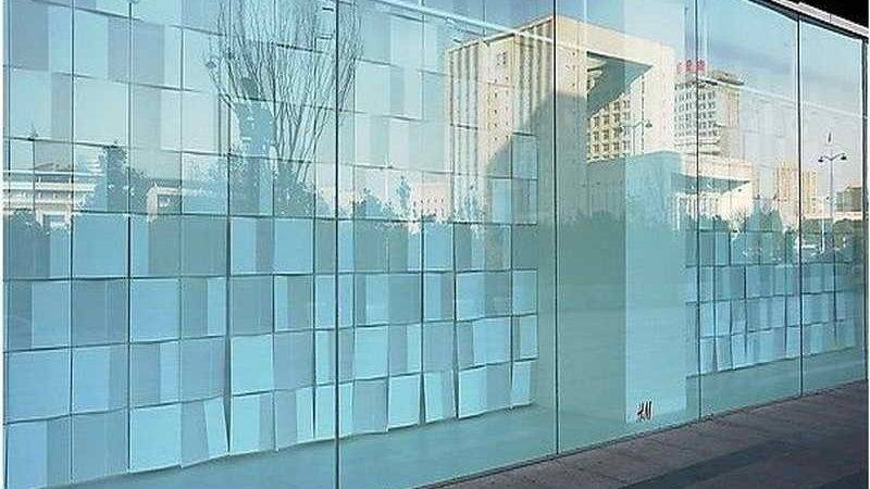 Wall Glass Modern House
